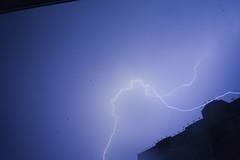 Night Destruction (alexwinger) Tags: violet sky night nikon lightstorm roof moment view crack cool