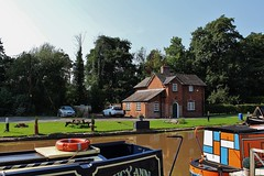 Nantwich Marina. (Eddie Crutchley) Tags: europe england cheshire nantwich outdoor marina trees canal boats barge narrowboats shropshireunioncanal sunlight simplysuperb