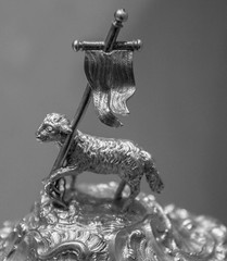 Lamb of God (noname_clark) Tags: italy rome vacation honeymoon vatican museum lambofgod symbol