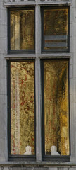 Windows (Natali Antonovich) Tags: windows reflection parallels belovedbrugge brugge bruges glass architecture
