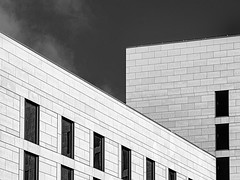 Hotel Living (Mac McCreery) Tags: hotel hotellatour architecture monochrome blackandwhite lines birminghamuk pentaxk5iis sigma1770dcmacro