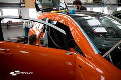 Corsa D Gloss orange wrap with Ceramic PRO (Sean at Monsterwraps Ltd) Tags: monsterwraps wrap wrapped wrapping carwrap paintisdead 3m southampton hampshire england ceramicpro ceramicproengland corsa vauxhall limitededition