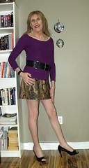 March 2016 (55) (Rachel Carmina) Tags: cd tv ts tg trap tgirl trans transgender transvestite crossdresser sexy legs heels nylons