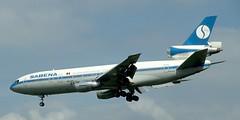 DC-10 | OO-SLB | BRU | 19910518 (Wally.H) Tags: mcdonnell douglas dc10 ooslb sabena bru ebbr brussels zaventem airport