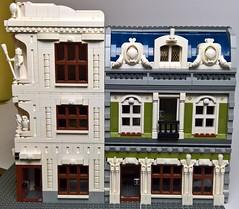 Pallas Palace (charliebrick) Tags: lego modular house building town city parisian book pallas 10243