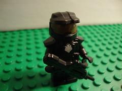 Lego Halo Spartan (CrazyLegoGuy) Tags: lego halo minifig custom