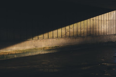 shy light (I AM JAMIE KING) Tags: shadow light angle architecture tunnel underpass bridge mytonbridge flyover hull riverhull