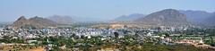 India - Rajasthan - Pushkar - View Over City & Lake - 192d (asienman) Tags: india rajasthan pushkar overview asienmanphotography