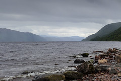 The legend of Nessie (rimerbl) Tags: lochness scotland loch lake leicadlux6 dlux6 leica unitedkingdom schotland water landscape hillside
