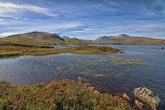 Lochan Na Achlaise. (Adrian Walker.) Tags: elements blackmount scotland hdr canon80d koodfilters water loch sky mountians hills landscape tripod ripples lake efs1018mmf4556isstm lochnaachlaise