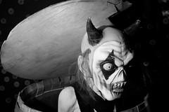 Clown Action (UnsignedZero) Tags: california celebrationevent in indoor indoors inside item mareisland nightmareisland object solanocounty vallejo