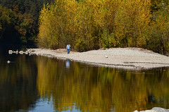 riflessi autunnali (gramignacosy) Tags: autunno autumn foliage riflessi acqua fiume passeggiata reflection water