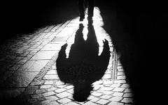 just a shadow (Erwin Vindl) Tags: justashadow streetphotography streettogs candid blackandwhite bw monochrome innsbruck erwinvindl olympusomd em10markii