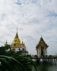 Temple at the coast. Travel Photography Religion Pagoda Gold Colored Place Of Worship Architecture Ancient Landscape Outdoors Gold No People Day Architecture Buddhist Temple In Thailand Buddhism Temple Thailand Buddhism Culture Temple Building Buddism Bud (markusg2010) Tags: travelphotography religion pagoda goldcolored placeofworship architecture ancient landscape outdoors gold nopeople day buddhisttempleinthailand buddhismtemple thailand buddhismculture templebuilding buddism buddhatemple skyandclouds builtstructure