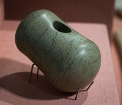 IMG_8321 (jaglazier) Tags: 103016 2016 3300bc2800bc 3rdmilleniumbc 4thmilleniumbc copyright2016jamesaglazier countymeath crafts dublin gravegoods ireland irish knowth meath museums nationalmuseum neolithic october passagetombs religion rituals schist shamanic stone stonesculpture stoneworking art funerary greenstone maceheads maces megalithic polished weapons
