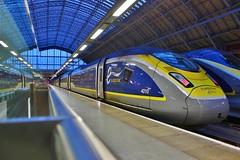 Eurostar 4010 (374010) - London St Pancras (South West Transport News) Tags: eurostar 4010 374010 london st pancras