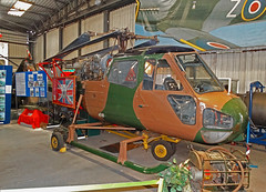 XP190 Westland Scout AH.1 (SteveDHall) Tags: aircraft airport aviation airfield aerodrome museum airmuseum syam southyorkshireairmuseum doncaster 2016 aeroventure military helicopter preserved ondisplay westlandscout army armyaircorps britisharmy aac scout falklandsconflict falklandswar 1982 falklandislands falklands veteran westland ah1 westlandscoutah1 scoutah1 xp190