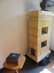 Tile stove (Joel Abroad) Tags: oldsalem northcarolina johnvogler silversmith watchmaker house workshop tilestove