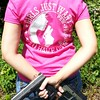 Customer Photo: Girls Just Want to Have Guns. Pew Pew Pew. Women's T-Shirt. (Sons of Liberty Tees) Tags: countrygirls girlpower girlswhoshoot girlswithguns girlytee glockgirl gunchick gungirl livefreeordie madeinusa molonlabe nra patriot pew pewpewpew rangegirl righttobeararms shallnotbeinfringed shooting sisterpatriots sonsofliberty sonsoflibertytees womenwhoshoot