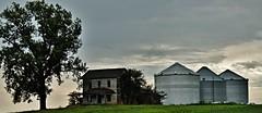 progress has a price... (BillsExplorations) Tags: progress abandoned decay ruraldecay abandonedhouse abandonedillinois farm neglect old oncewashome
