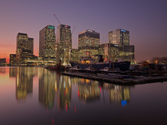 Docklands (Andrew H-W) Tags: lee autumn water basin landscape season reflections city graduated 2016 imagetype filters canarywharf dock london gran 2stop tripod places effects 06 hard uk andrewhaywardwills