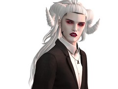 Sharper Than Knives (Winter Jefferson) Tags: tableauvivant runawayhair tmp muschi zibska breath secondlife avatar vampire fangs