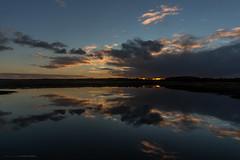 Like a mirror... (CarolienCadoni..) Tags: sonyslta99 sal2470z clouds sky sundown sunset lake reflection mirror lofar drenthe exloo
