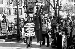 "Standing with Standing Rock (Xsbmrnr (Please read profile before ""following"") Tags: street streetphotography standingrock bandw blackandwhite film 35mm 35mmfilm olympusom1 om1 olympus gorepark hamiltonflickrgroup hamilton blazinal"