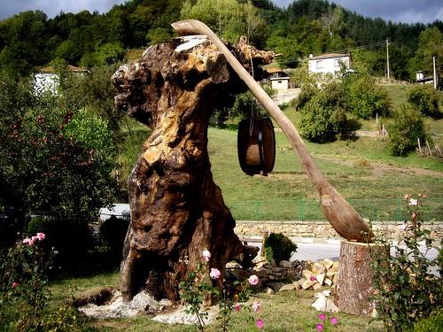 Големият черпак и голямата бъклица в село Могилица