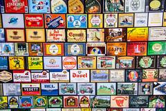 Belgian  Bier (Jan Herremans) Tags: antwerpen belgium janherremans beer labels publicity