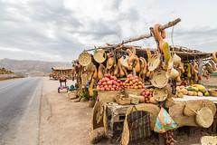 Roadside sellers' stalls (lemien) Tags: africa fes morocco meknestafilalet ma