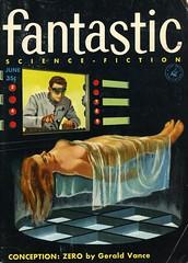 Fantastic Magazine - June 1956 (swallace99) Tags: vintage 50s sf scifi sciencefiction magazine edwardvaligursky fantasticmagazine