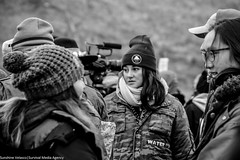 Actress Shailene Woodley at Standing Rock on November 24th (Survival Media) Tags: nodapl standingrock standwithstandingrock waterislife northdakota waterprotectors turtleisland sacredsite action shailenewoodley environment environmentaljustice native indigenous dakotaaccesspipeline