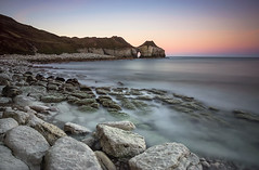 thornwick bay (alastairgraham19) Tags: landscape longexposure sony sky sunset seascape sea outdoor nature yorkshire rocks beach coast
