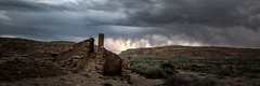 Storm over Chaco I (Sandra Herber) Tags: chacocanyon newmexico pueblobonito storm