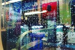 334 | 366: Under The Weather (phillytrax) Tags: philadelphia philly pa pennsylvania cityofbrotherlylove 215 city urban usa america unitedstates metropolis metropolitan instagram project366 septa underground metro subway marketstreetsubway westphilly westphiladelphia universitycity blueline marketfrankfordline marketfrankfordel rainywindows 30thstreet subwaystation reflection window instagramapp square squareformat iphoneography uploaded:by=instagram clarendon