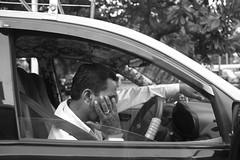 Despair in Traffic (Vasant Marur) Tags: bombay maharashtra india