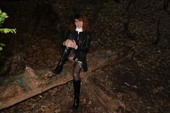 IMG_5985 (Kira Dede, please comment my photos.) Tags: kiradede kirad 2016 crossdresser copenhagen stockings lingerie upskirt hirschsprungssamling