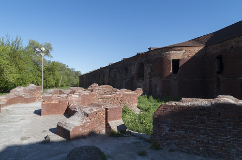 Ruins within Brest Fortress Memorial Complex, 05.05.2014.