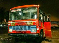 Mumbai - pune stn - Ahmednagar (yogeshyp) Tags: msrtc st msrtcparivartanbus tarakpurst