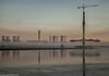 Merseyside Autumn (4 of 16) (andyyoung37) Tags: fiddlersferrypowerstation merseygatewaycrossing runcorn uk wiggisland cheshire cranes sunrise