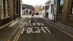 Carberry Road, Crystal Palace, South London (Paul-M-Wright) Tags: carberry road crystal palace south london uk urban street photography turn right sign londres route londra strada