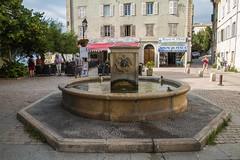 Saint-Florent - La fontaine de Jean sur la place Doria (jpdelalune) Tags: saintflorent fontaine corse france