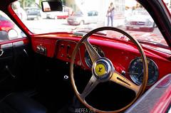 Ferrari 212 Inter Berlinetta Touring (Andrea the sleeper) Tags: coppa doro delle dolomiti cortina dampezzo aci asi storico gara race di regolarit cavallino rampante rosso red ferrari rare rarest racecar historical history interior touring superleggera