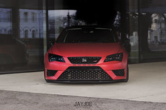 SEAT LEON (JAYJOE.MEDIA) Tags: seat leon low lower lowered lowlife stance stanced bagged airride static slammed wheelwhore fitment