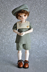 Blue Fairy limited Sage Fei (Lorena Firefly) Tags: bluefairy bjd doll dollfie balljointeddoll boy bokeh dolks sagefei yosd cute korea luts little sailor
