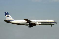 N8416 Boeing 707-323C American Transair (pslg05896) Tags: n8416 boeing707 americantransair lgw egkk london gatwick