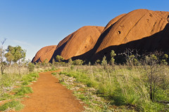 Uluru Base Walk (Fear_Through_The_Eyes) Tags: travel rock landscape nationalpark walk australia outback uluru bushwalk northernterritory ayersrock