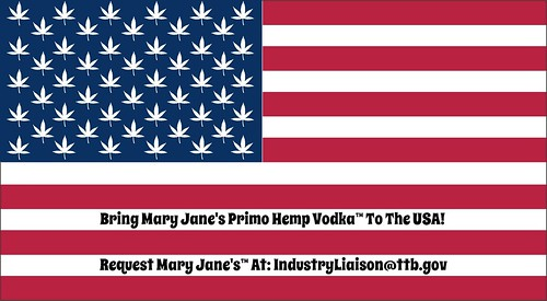HEMP VODKA • CANNABIS