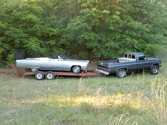 006 (stevenbr549) Tags: truck 4x4 convertible cadillac chevy 1968 trailer 1985 towing k10